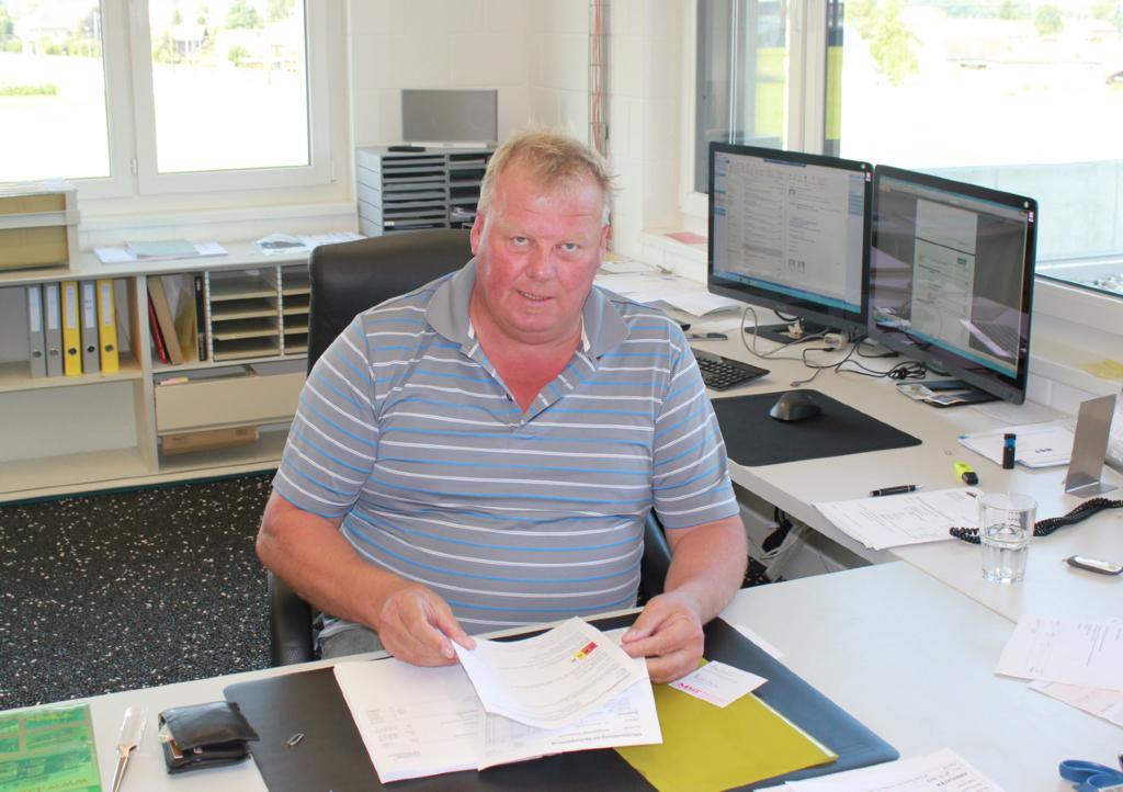 Fritz Leuenberger Geschäftsführer Dipl. Baumeister